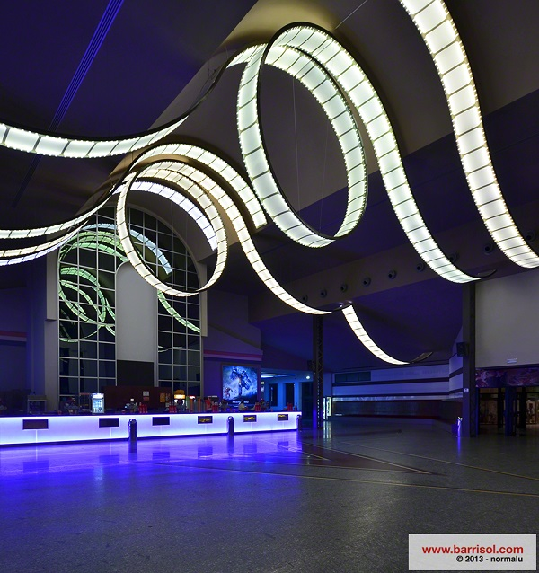 Nghệ thuật trang trí với trần nhà 3D