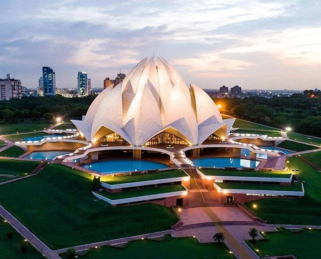 Đền thờ Hoa sen, New Delhi, Ấn Độ