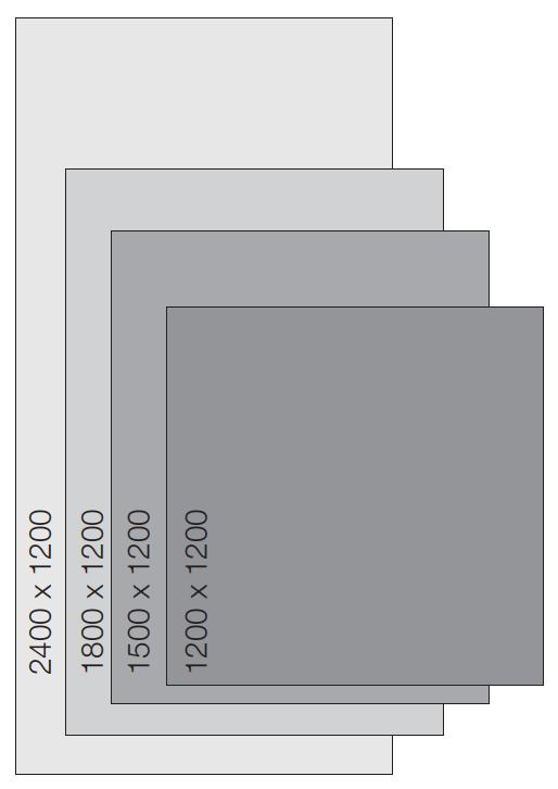 Kích thước tiêu chuẩn