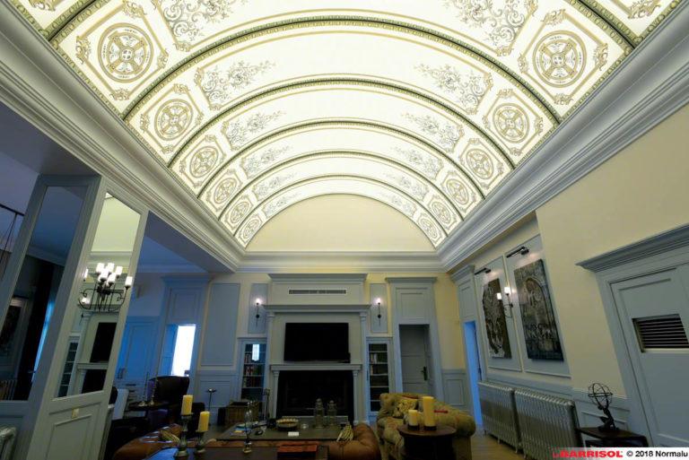 trần nhà đẹp Barrisol VN