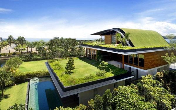kiến trúc xanh cho mọi không gian