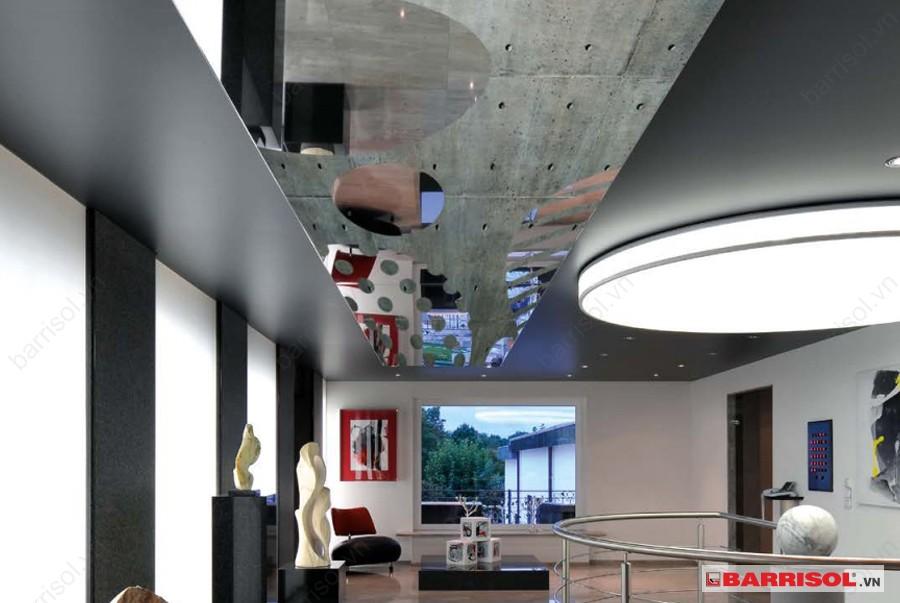 Những mẫu thiết kế trần gương ấn tượng và phù hợp với nhiều không gian