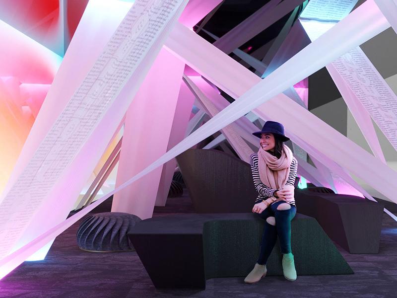 Thiết kế không gian thu hút với vật liệucải tiến Barrisol Việt Nam