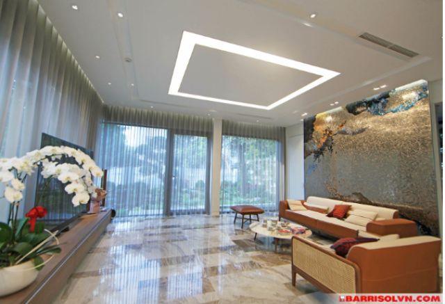công trình trần xuyên sáng barrisol 10