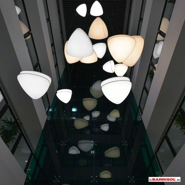 công trình trần xuyên sáng barrisol 11