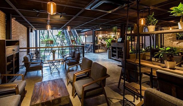 mẫu quán cà phê đẹp 7