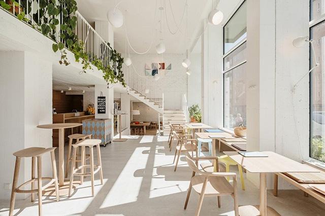 mẫu quán cà phê đẹp 9