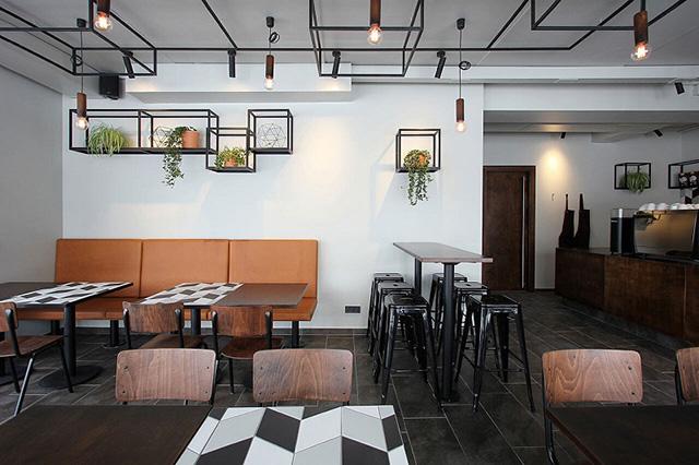 Thiết kế quán cà phê đẹp 1