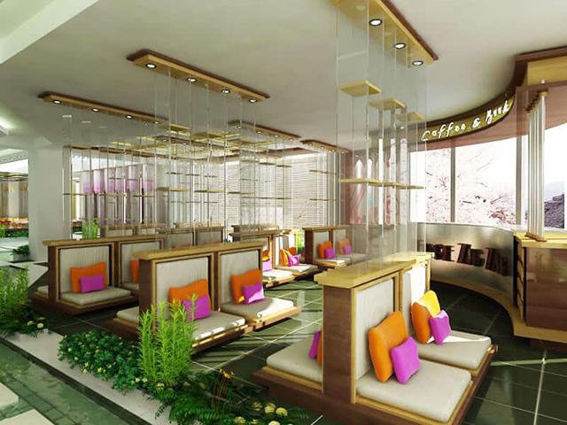 Thiết kế quán cà phê đẹp 3