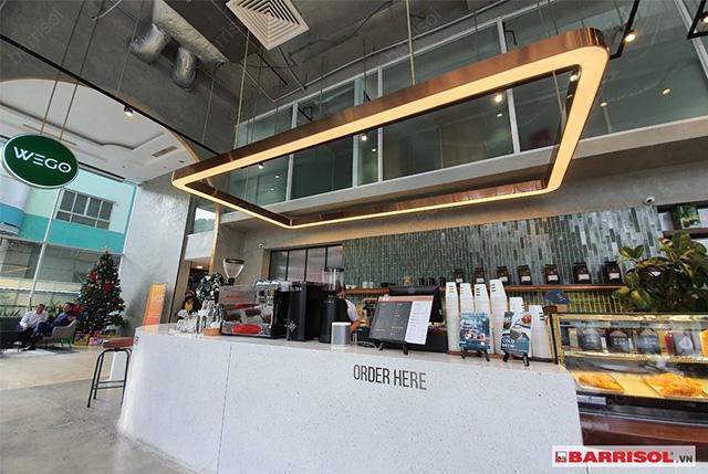 Thiết kế quán cà phê đẹp 4
