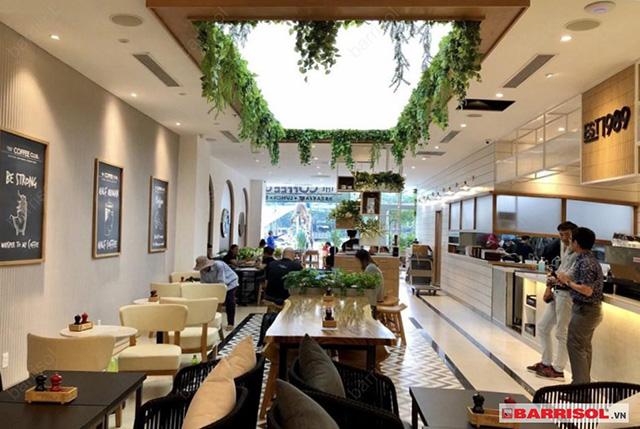 Thiết kế quán cà phê đẹp 5
