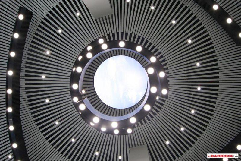 mẫu trần xuyên sáng khí tương TU 1